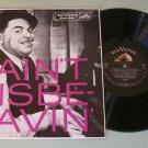 Fats Waller Ain't Misbehavin'  RCA 1246 Jazz Record LP