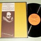 Understanding Shakespeare by Morris Schrieber SCHOLASTIC 9124 Record LP