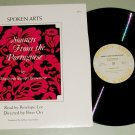 Sonnets From The Portuguese by Elizabeth Browning SPOKEN ARTS 973 Record LP