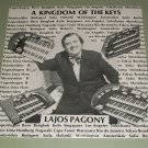 Lajos Pagony The Polytones  A Kingdom Of Keys SEALED Record LP