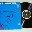 This Is .... Art Tatum  Vol. 2  Recorded Live  TFM-3163  Record LP