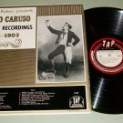 Enrico Caruso First Recordings 1901-1903 TAP T-307 LP