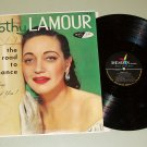Dorothy Lamour  The Road To Romance  Record DESIGN DLP 45