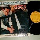 Andre Previn & His Pals  GiGi  Jazz LP CONTEMPORARY M3548