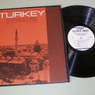 Folk And Traditional Music Of Turkey FOLKWAYS FE 4404