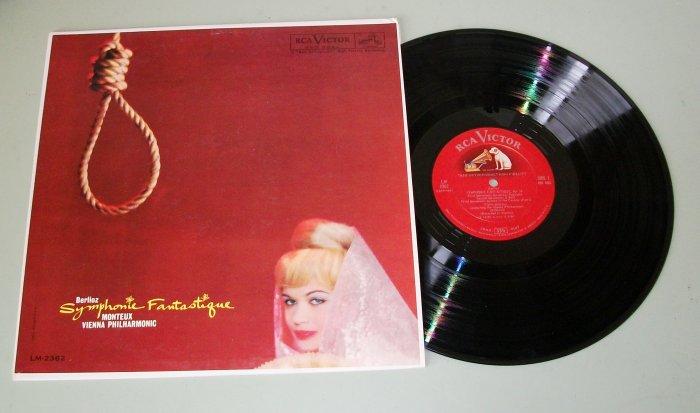 Berlioz Symphonie Fantastique Monteux RCA LM-2362 LP Record