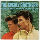 The Everly Brothers - Songs Daddy Taught Us - CET 110 - EP Record