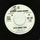 Steve Young - Seven Bridges Road - PROMO 45 rpm