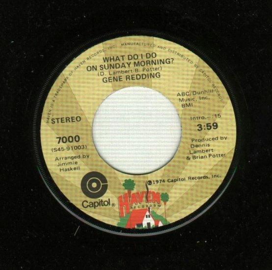 Gene Redding - This Heart - R&B 45 rpm Record