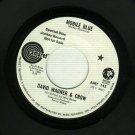David Wagner & Crow - Mobile Blues - PROMO 45 rpm
