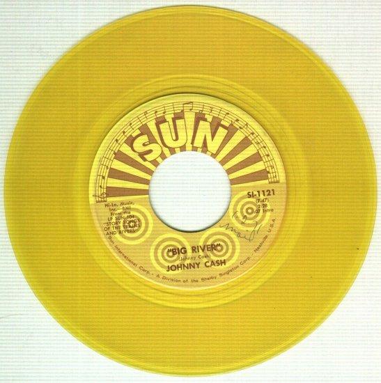 Johnny Cash - Big River / Come In Stranger - SUN 1121 Record 45 rpm