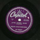 Sugar Chile Robinson  After School Blues / Numbers Boogie 78 rpm Record