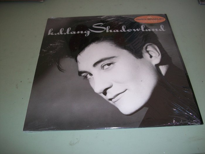K.D. Lang - Shadowland - The Owen Bradley Sessions - Pop Record LP