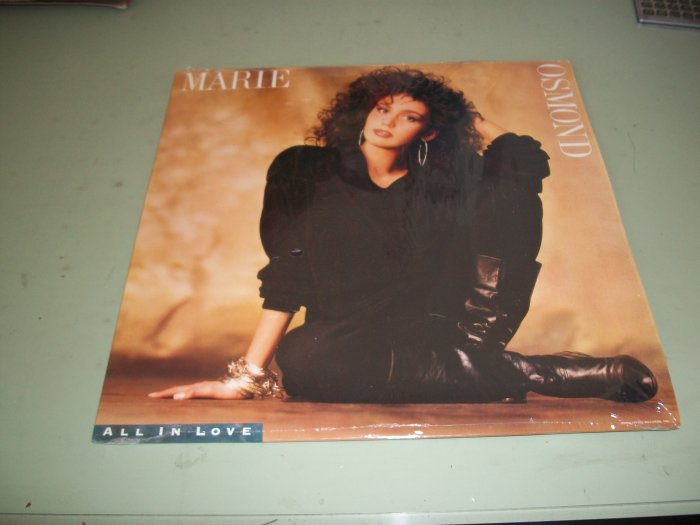 Marie Osmond - All In Love - Pop Record LP