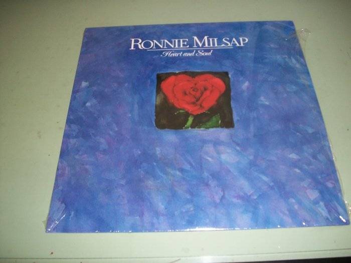 Ronnie Milsap - Heart And Soul - Country Record LP