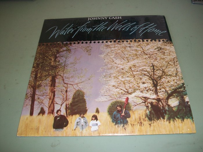 Johnny Cash - Water From The Wells Of Home - Country Record LP