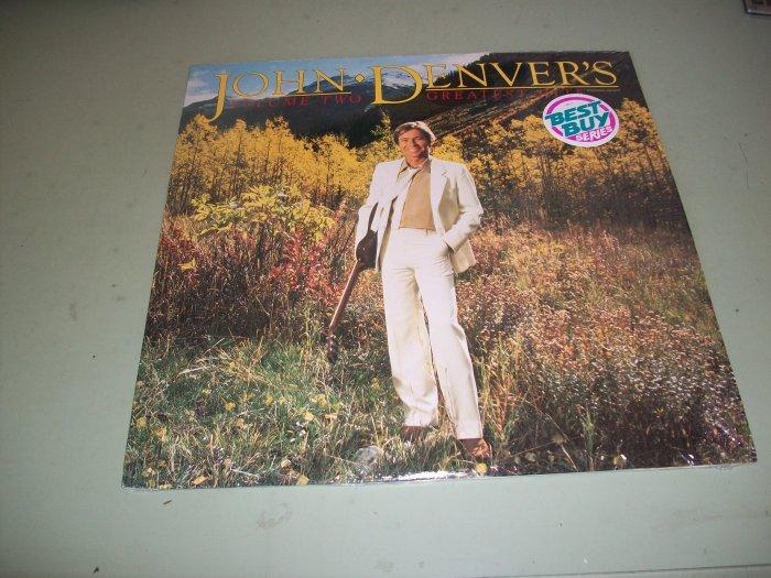 John Denver - Greatest Hits Volume 2 - Pop/Country Record LP