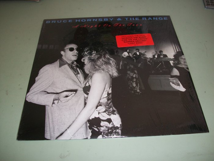 Bruce Hornsby & The Range - A Night On The Town - Pop Record LP