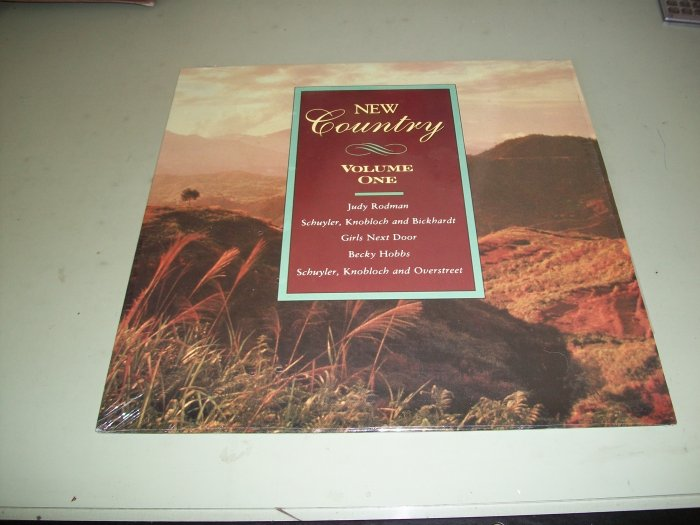 New Country Volume 1 - Various Artist - Record LP