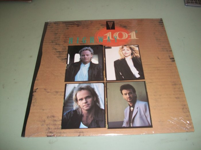 Highway 101 - Country Record LP - Honky Tonk Heart