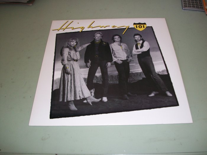 Highway 101 - Country Record LP - Whiskey If You Were A Woman