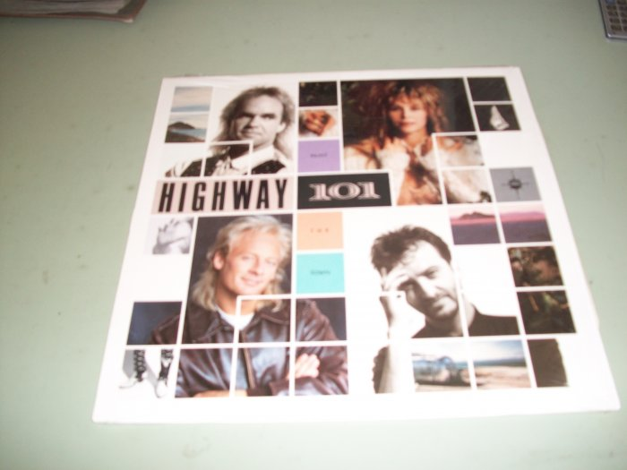 Highway 101 -  Paint The Town - Country LP