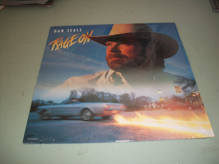 Dan Seals - Rage On - Country Record LP
