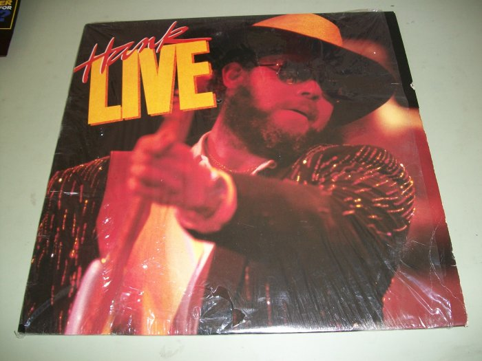 Hank Williams Jr. - Hank Live - Country Record LP