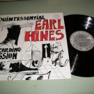 Quintessential Earl Hines - CR 101 - Jazz Record LP