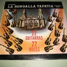 La Rondalla Tapatia - 22 Guitarras / Guitars- SEALED Record LP