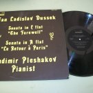 Jan Ladislav Dussek - Vladimir Pleshakov - ORION Record LP