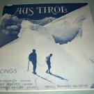Emo Henrich - Aus Tirol - Droll Yankee DY10 - German Folk Record