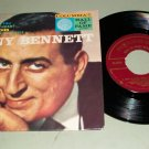 Tony Bennett - Because Of You - 45 rpm EP Record & Pic Sleeve