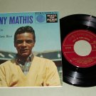 Johnny Mathis - Call Me - 45 rpm EP Record - Columbia 2616
