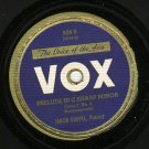 Jakob Gimpel - Prelude In G Sharp Minor - VOX 609 - 78 rpm Record
