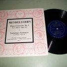 """Mendelssohn Concerto No. 1 - Winterthur Symphony - 10"""" Record LP"""