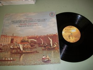 Handel - Two Double Concertos - Neville Marriner - Quad Record LP