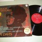 Colin Davis - Berlioz Overtures - Philips Classical Record LP