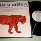 Sounds Of Animals - Folkways FX-6124 - Record LP