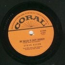Steve Allen The Ballad Of Davy Crockett 78 rpm Record
