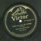 Cesko-Slovensky Kvartet Slovac Folk Song 78 rpm Record