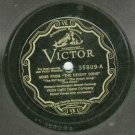 Victor Light Opera - Gems From The Desert Song - 78 rpm Record