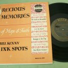 "Bill Kenny of the Ink Spots  Precious Memories  10"" Record"