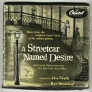 A Streetcar Named Desire  Original 4 Record Box Set 45 rpm