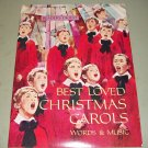 Best Loved Christmas Carols Music Book   Readers Digest