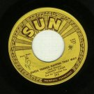 Johnny Cash - Guess Things Happen That Way - 45 rpm SUN 295 Record