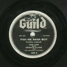 Gerald Clark Fan Me Saga Boy Calypso Record 78 rpm