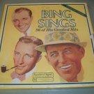 Bing Sings 96 Greatest Hits SEALED Box Record Set Crosby