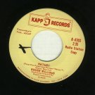 Roger Williams - Hatari - KAPP 470 - 45 rpm PROMO Record