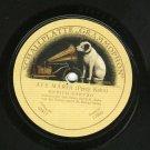 Enrico Caruso Ave Maria Grammophon 2472 Record 78 rpm